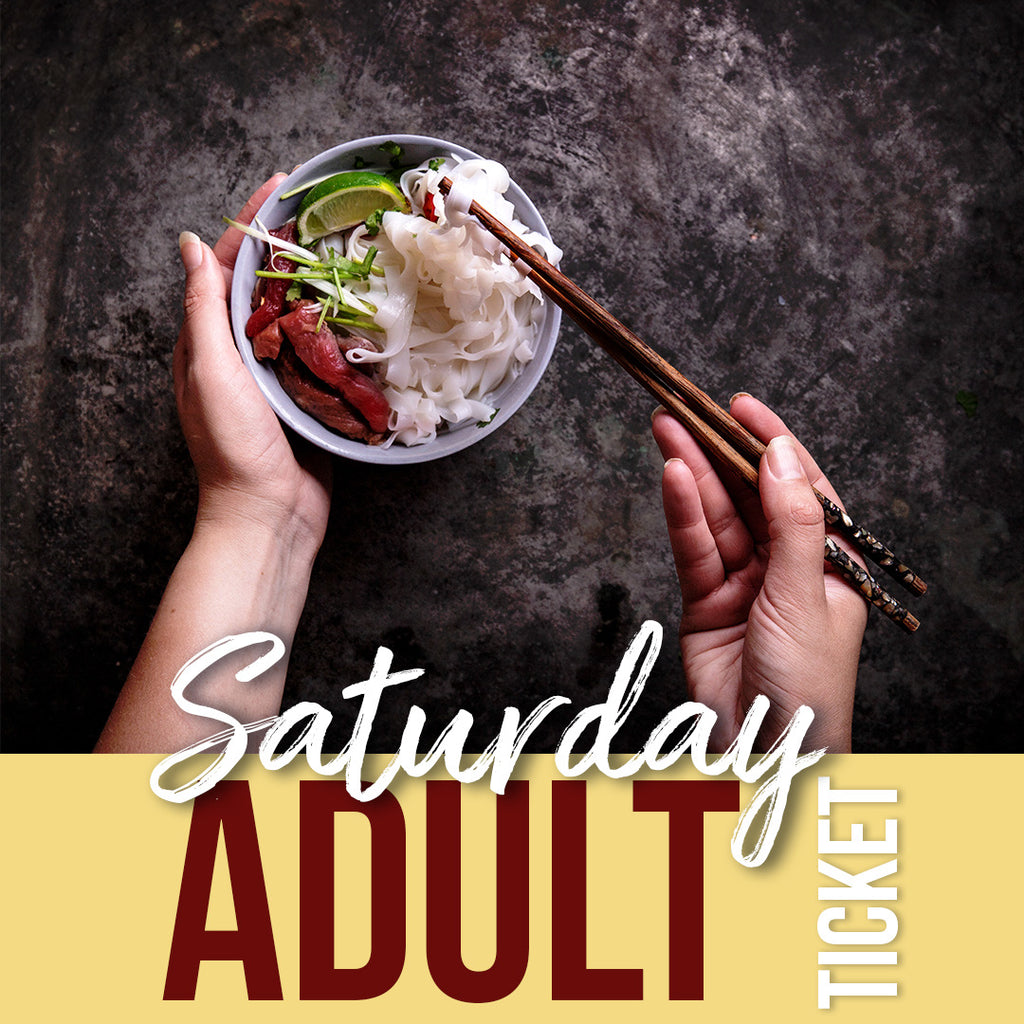 Sat, June 8 Adult Pop Up Ticket
