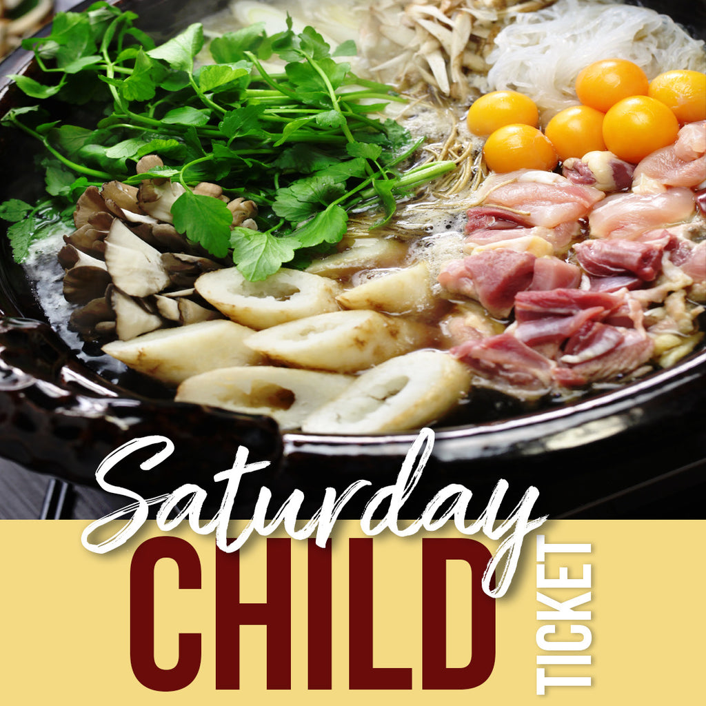 Sat, Jan 12 Child Pop Up Ticket