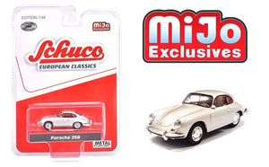 Schuco 1:64 MiJo Exclusives - European Classics - Porsche 356 (Silver) - Limited to 1200 pieces