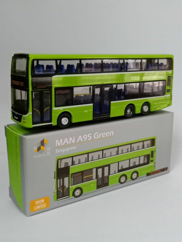 TINY MODEL 1:110 MAN A95 GREEN SHOW LIMITED EDITION (ROUTE 67)