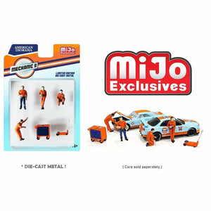 American Diorama 1:64 Mijo Exclusive Mechanic ll Figures set Limited 3,600 New 2020 - *PRE ORDER*