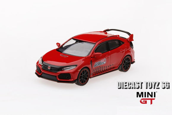 "Mini GT #24 1/64 Honda Civic Type R (FK8) ""Time Attack 2018) (LHD)"