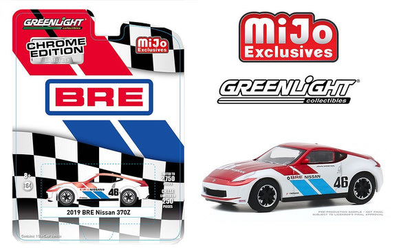 GREENLIGHT 2019 BRE Nissan 370Z CHROME MiJo Exclusives Limited