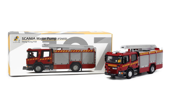 TINY #197 SCANIA MAJOR PUMP Hong Kong FSD