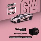 Tarmac Works 2020 Koenigsegg Agera RS Taipei Gold 1/64 TAIWAN EXCLUSIVE