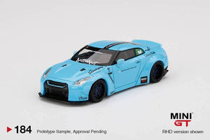 MINI GT #184 LB★WORKS LB GT-R Type 1 ducktail Macau special edition