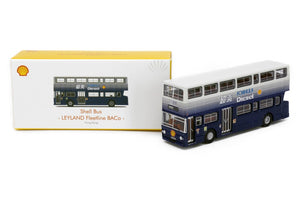 TINY 1/76 SHELL BUS - LEYLAND FLEETLINE BACO