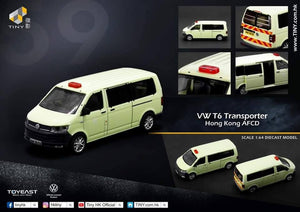 Tiny City 1/76 56 VW T6 TRANSPORTER Hong Kong AFCD