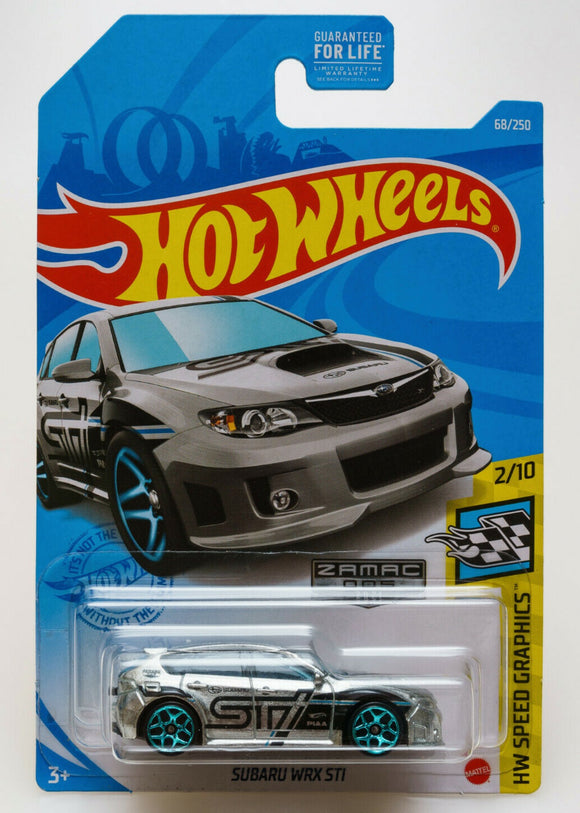 HOT WHEELS SUBARU WRX ZAMAC - EXCLUSIVE