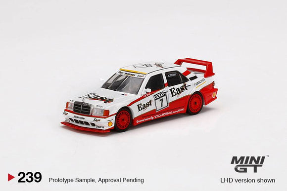 * PRE ORDER * MINI GT #239 1/64 Mercedes-Benz 190E 2.5-16 Evolution II #7