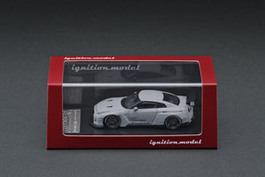 IGNITION MODEL IG1749 PANDEM R35 GT-R Matte Gray