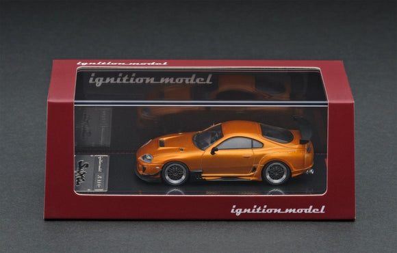 IGNITION MODEL 1/64 Toyota Supra (JZA80) RZ IG1864 Orange