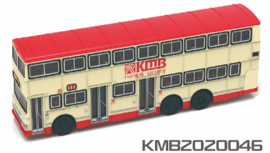 * PRE ORDER * Tiny City 191 Die-cast Model Car - 1:110 KMB DENNIS Dragon 12m (big logo) (111)