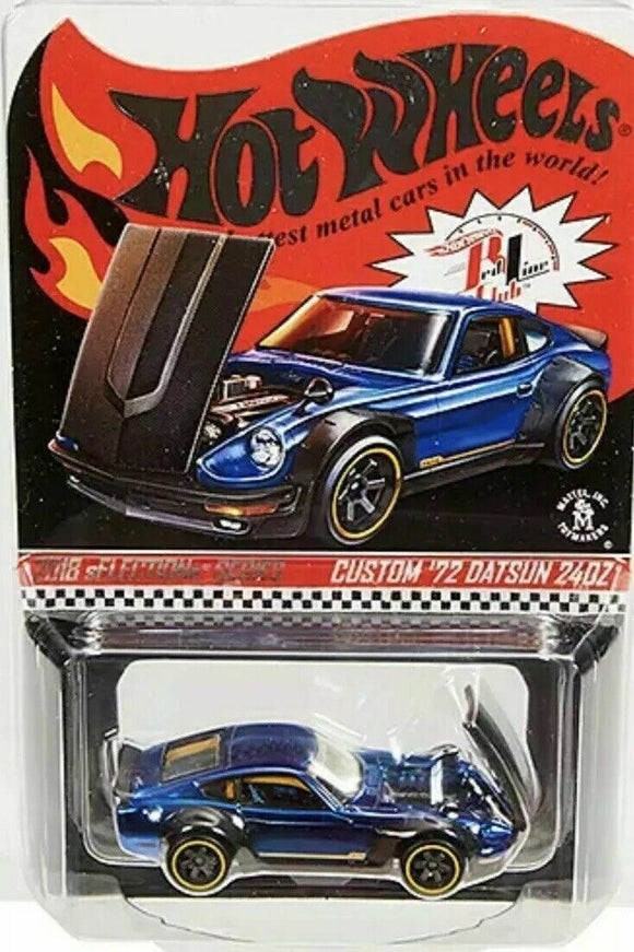 2018 Hot Wheels RLC sELECTIONs '72 Custom Datsun 240Z RLC