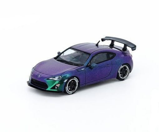 INNO64 1/64 TOYOTA GT86 2014 Magic Purple Hong Kong Special Edition