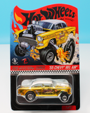 "HOT WHEELS '55 CHEVY BEL AIR GASSER "" DIRTY BLONDE "" RLC SELECTION CAR"