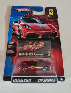 Hot Wheels Ferrari Racer Series 430 Scuderia 1:64