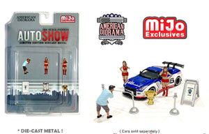 American Diorama 1:64 Mijo Exclusive Auto Show Figures Set Limited Edition 4,800  - *PRE ORDER*