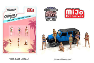 American Diorama 1:64 Mijo Exclusive Calendar Girls ll Figures Limited Edition 1 of 4,800  - *PRE ORDER*