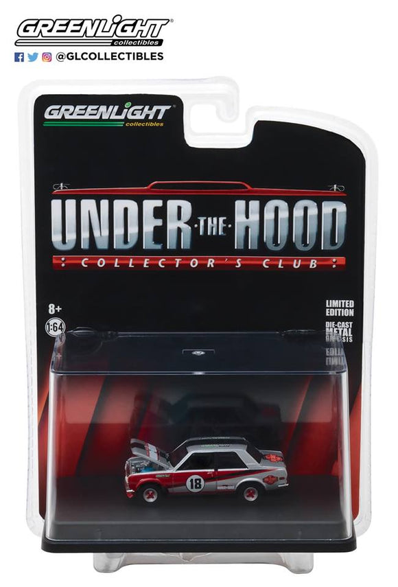 GREENLIGHT UNDER THE HOOD COLLECTOR'S CLUB EXCLUSIVE DATUN 510