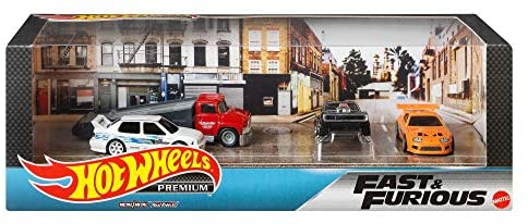 HOT WHEELS FAST AND FURIOUS GARAGE SET