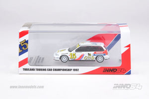 INNO 64 HONDA CIVIC EF9 #15 SINGHA NATIONAL PANASONIC Driven by Apipunya Prasert at Thailand Touring Car Championship 1992 - Championship Winner