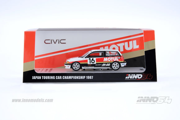 INNO 64 1:64 HONDA CIVIC E-AT #16
