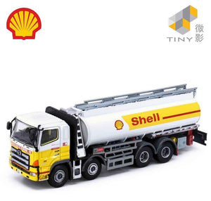 * PRE ORDER * Tiny City 179 Die-cast Model Car - HINO 700 Shell Oil Tanker Truck