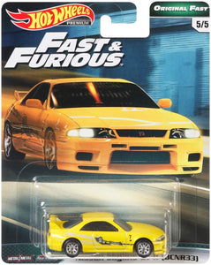 Hot Wheels Nissan Skyline GTR R33 - Fast and Furious