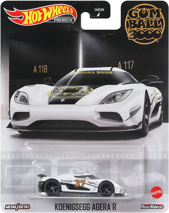 Hot Wheels Retro Entertainment - KOENIGSEGG Agera R GRL68