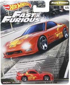 "HOT WHEELS MAZDA RX7 "" FAST AND FURIOUS """