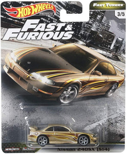 "HOT WHEELS NISSAN 240SX (S14) "" FAST AND FURIOUS """
