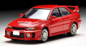 Tomica Limited Vintage Neo 1/64 LV-N187b Mitsubishi Lancer GSR Evolution V Red