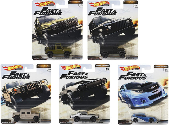HOT WHEELS FAST AND FURIOUS