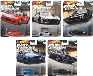 "HOT WHEELS FAST AND FURIOUS "" FULL FORCE "" SET"