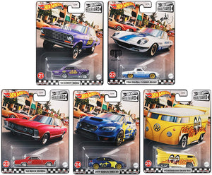 HOT WHEELS 1/64 BOULEVARD MIX E SET