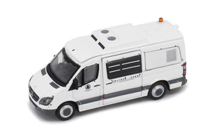 * PRE ORDER * Tiny City 31 Die-cast Model Car - MERCEDES-BENZ Sprinter AFCD (White)