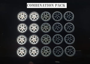 GARAGE 64 RUBBER WHEELS ** D SERIES ** 1:64 SCALE