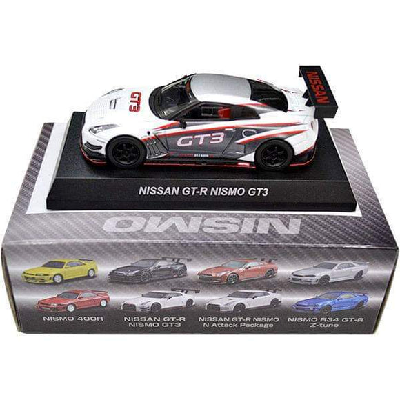 Kyosho 1/64 Nissan GT-R Nismo GT3 Diecast Mini Car Online Limited Ver