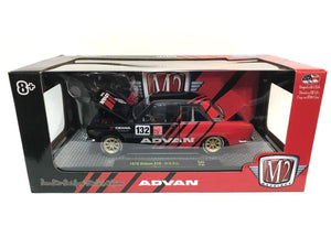 "1970 Datsun 510 ""Auto-Japan"" Advan 1/24 Diecast Model Car by M2 Machines"