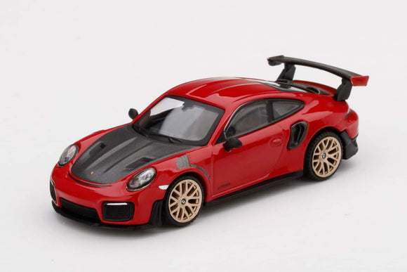 MINI GT #160 1:64 Porsche 911 (991) GT2 RS Guards Red  LHD Taiwan Exclusive