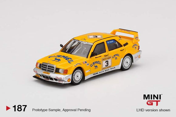 * PRE ORDER * MINI GT #187 Mercedes-Benz 190E 2.5-16 Evolution II #3