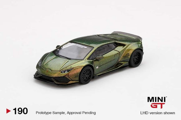 * PRE ORDER * MINI GT #190 LB★WORKS Lamborghini Huracán ver. 2  Magic Bronze