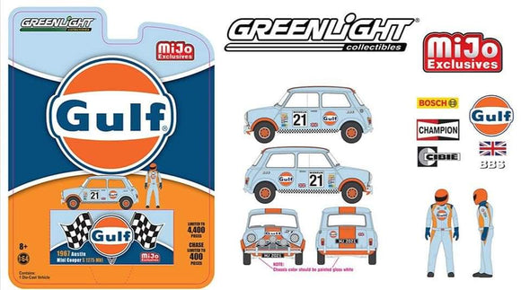 * PRE ORDER * Greenlight 1:64 Mijo Exclusive 1967Austin mini Cooper
