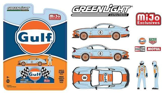 * PRE ORDER * Greenlight 1:64 Mijo Exclusive 2021 Ford Mustang Mach