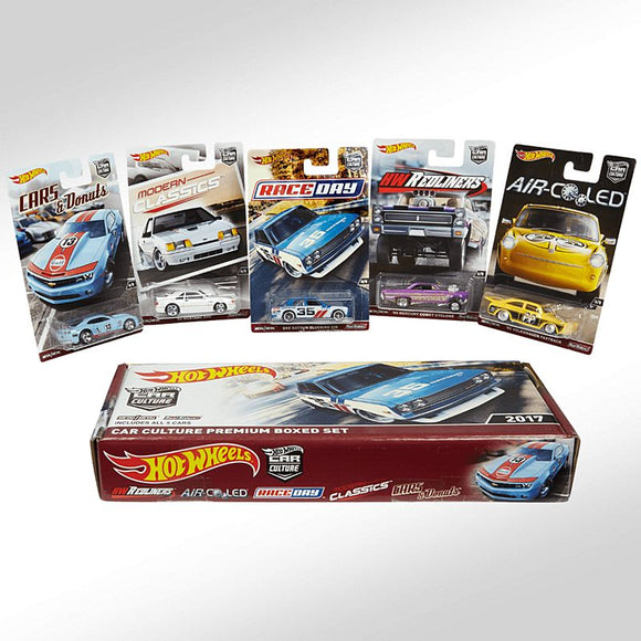 Hot Wheels RLC Exclusive 2017 Carculture Premium Boxed Set