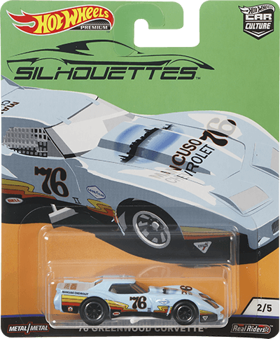 Hot Wheels '76 Greenwood Corvette®