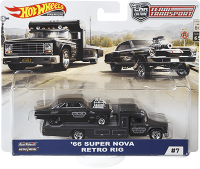 Hot Wheels '66 Super Nova/Retro Rig (Team Transporter Series)