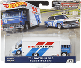 Hot Wheels Datsun 510/Fleet Flyer BRE Racing (Team Transporter Series)