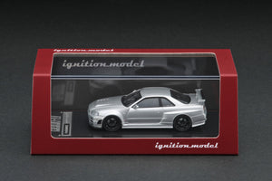 IGNITION MODEL IG1867 Nismo R34 GT-R Z-tune Silver
